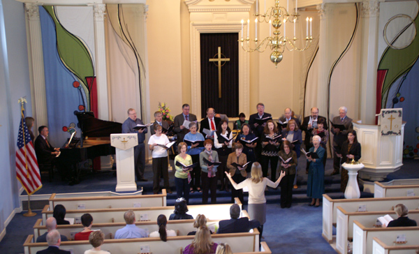 Choir-during-service